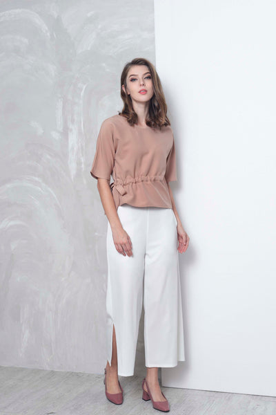 Basics-Celie Top in Brown