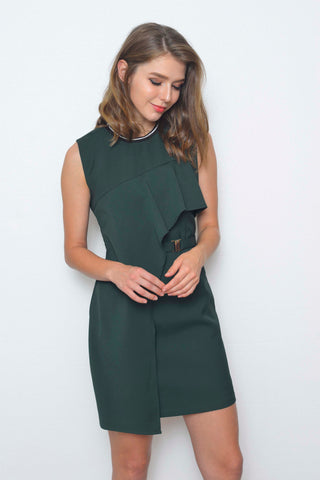 Collections-Ariana Dress in Green