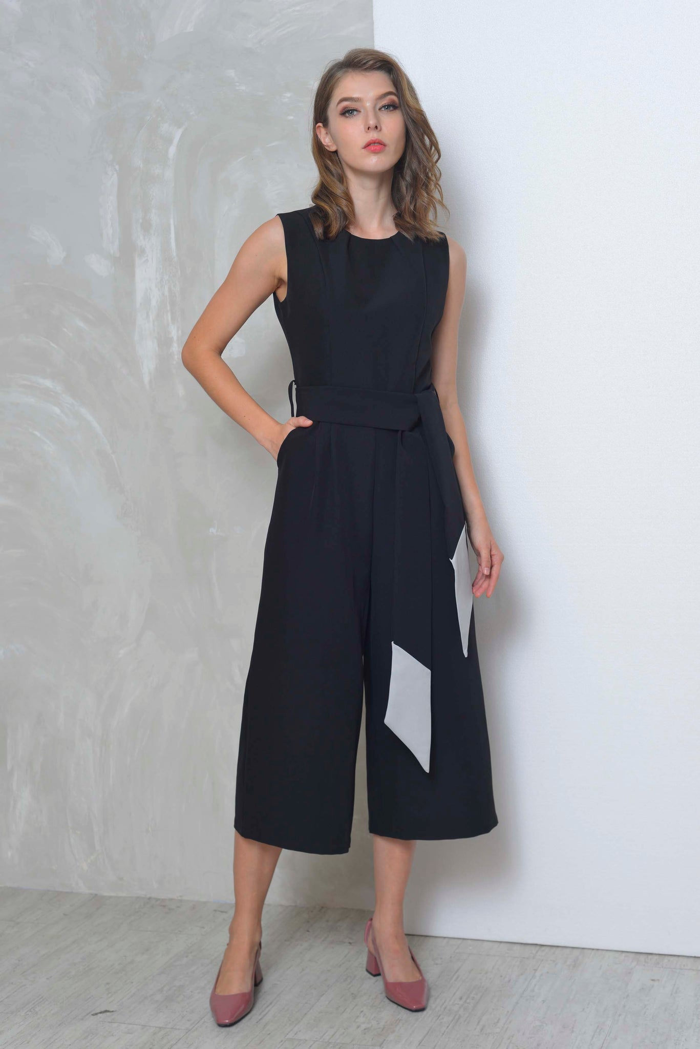 Collections-Vayle Jumpsuit in Black