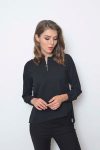 Casusl-Lyra Top in Black
