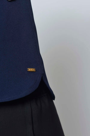 Collections-Dior Top in Navy