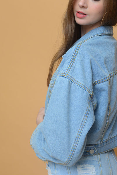Denim Jacket in Blue