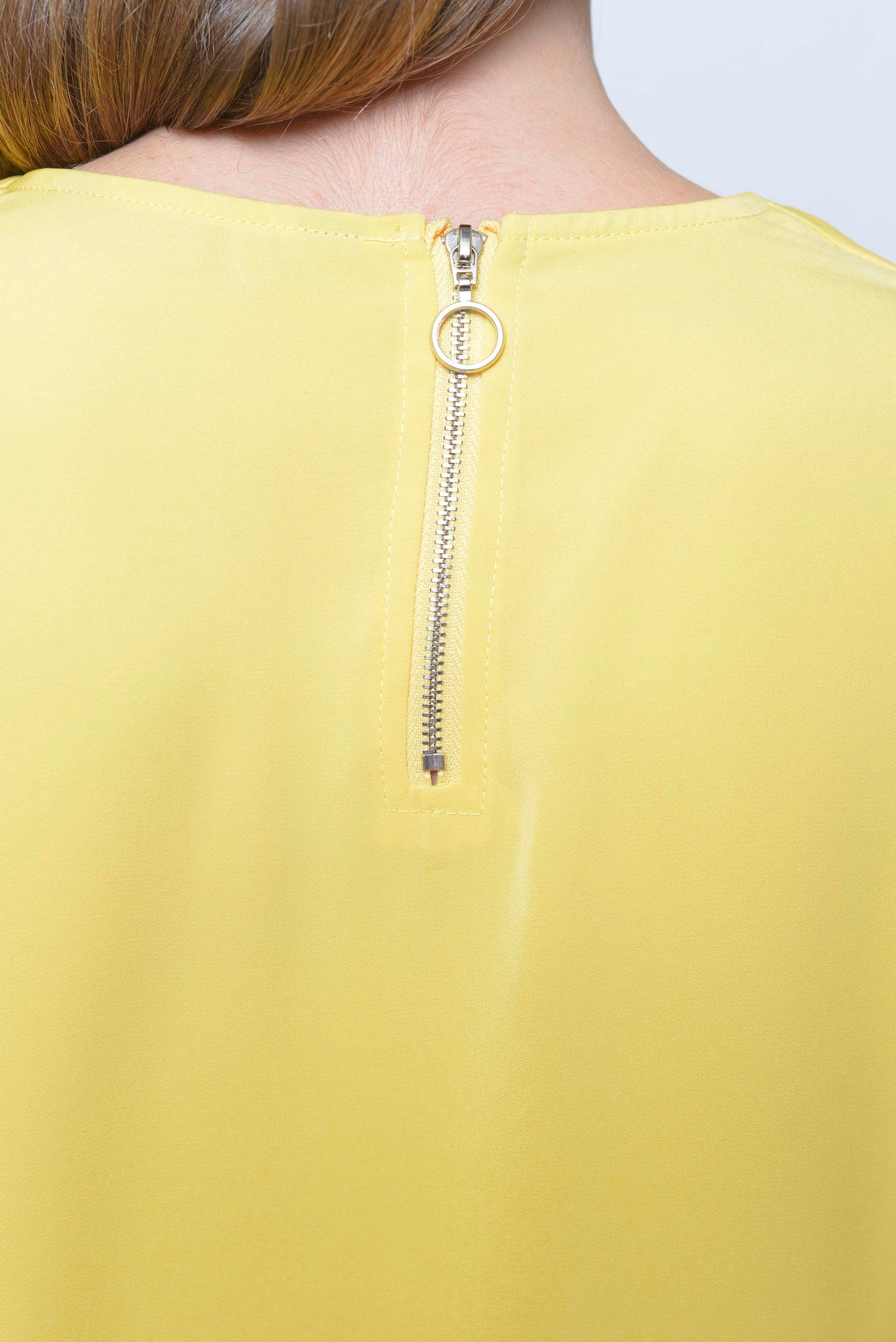 Basics-Jeanna Top in Yellow