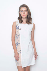 Casual-Lyra Dress in White