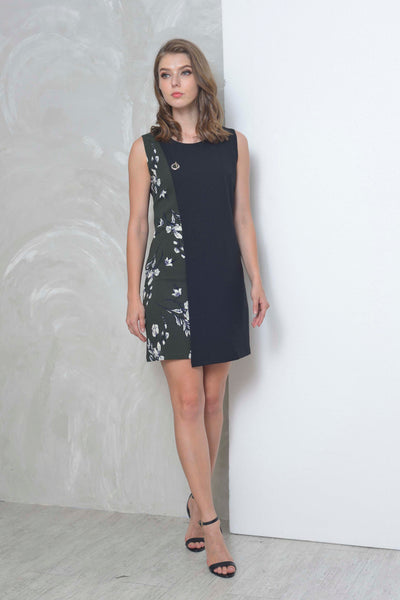 Casual-Lyra Dress in Black