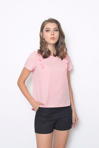 Basics-Jozlyn Top in Pink