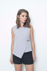 Collections-Dior Top in Grey