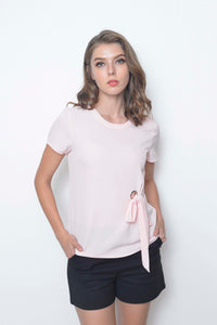 Basics-Evelyn Top in Pink