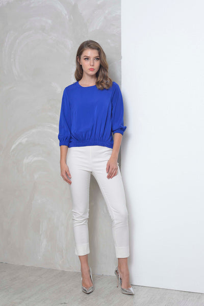 Basics-Deryn Top in Blue