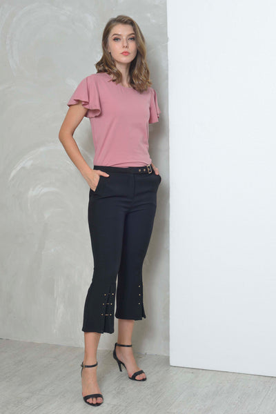Basics-Alison Tee in Pink
