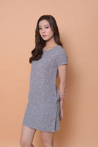 Collection-A- line dress in grey
