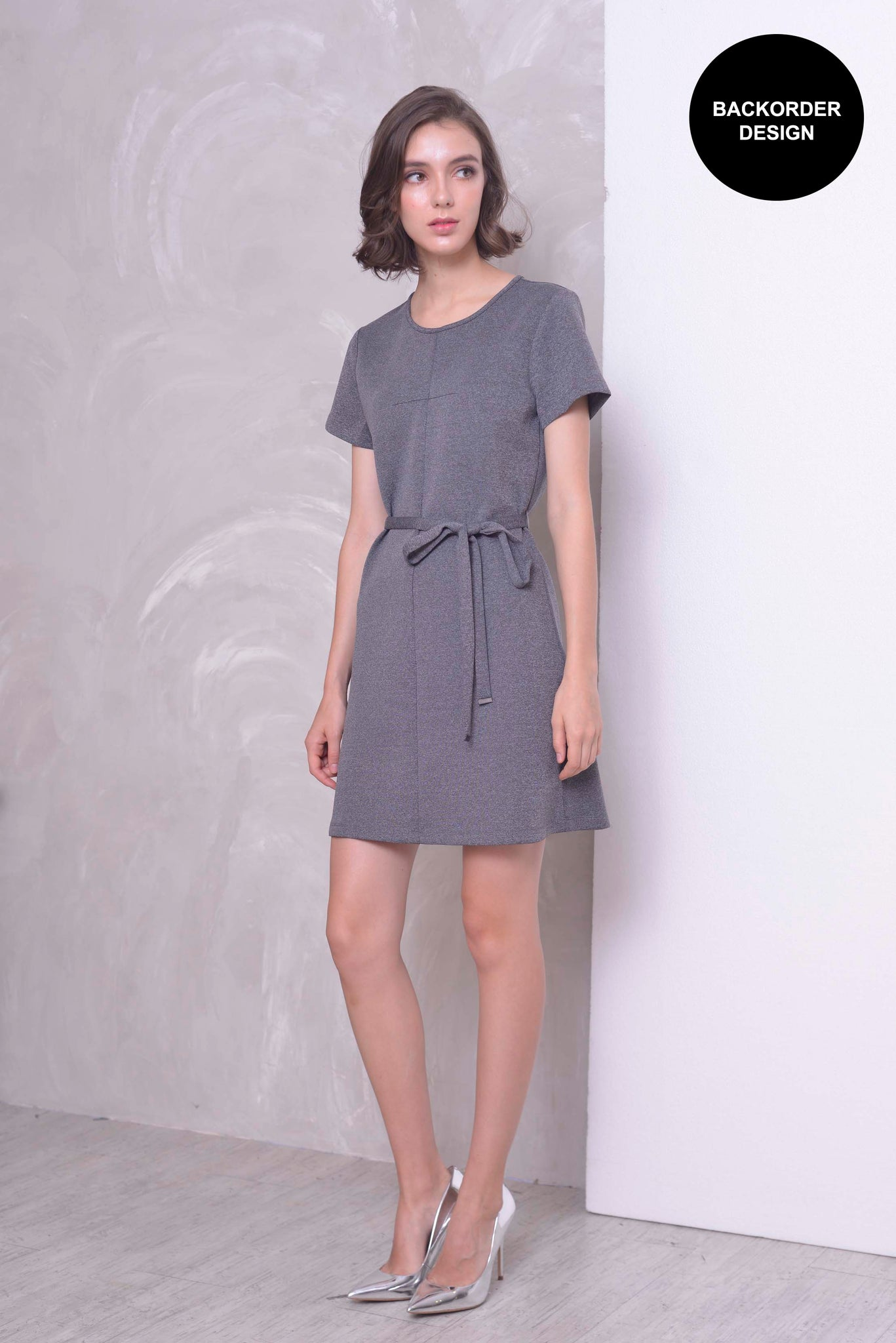 CASUAL-Klara Dress in DK.GREY