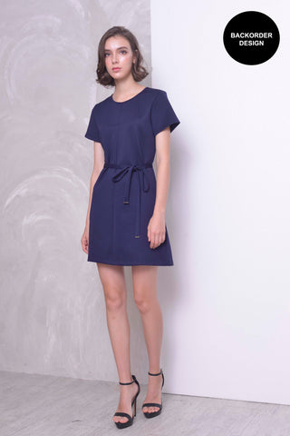 CASUAL-Klara Dress in Navy