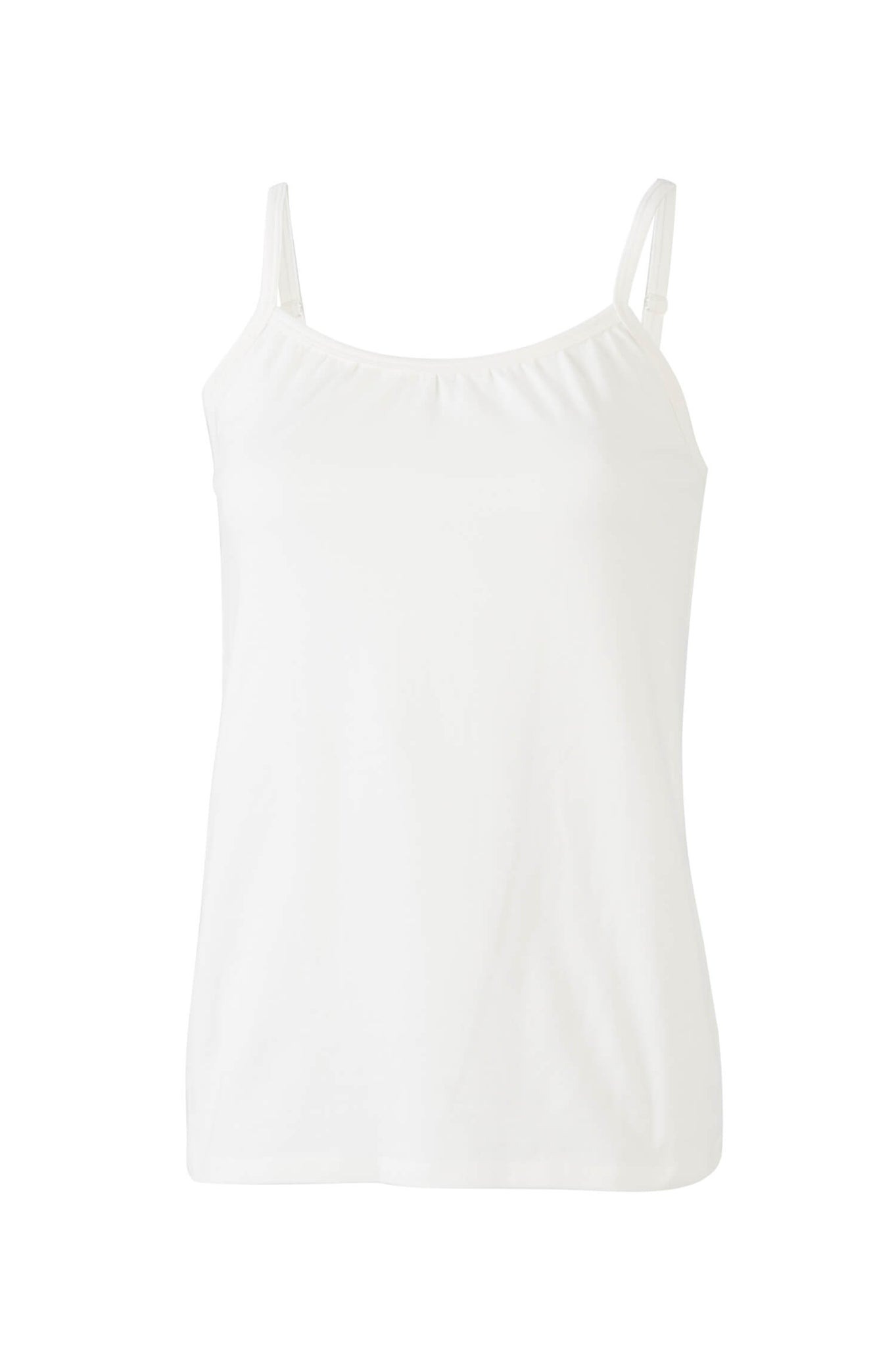 Straps Tank Top in white