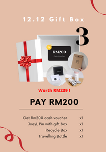 [PRE-ORDER] X'mas Gift Box-Worth RM239