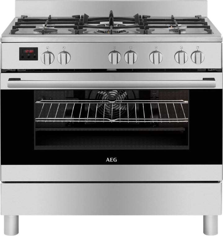 AEG 90CM GAS/ELECTRIC FREE STANDING COOKER - 10369MN-MN