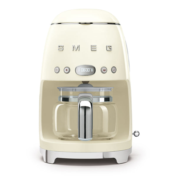SMEG 50's STYLE RETRO DRIP FILTER COFFEE MACHINE - DCF02CRSA
