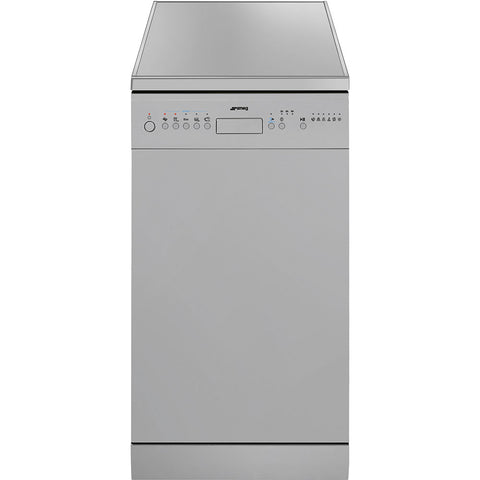 SMEG 10 PLACE SLIM LINE S/STEEL DISHWASHER- DW45QXSA