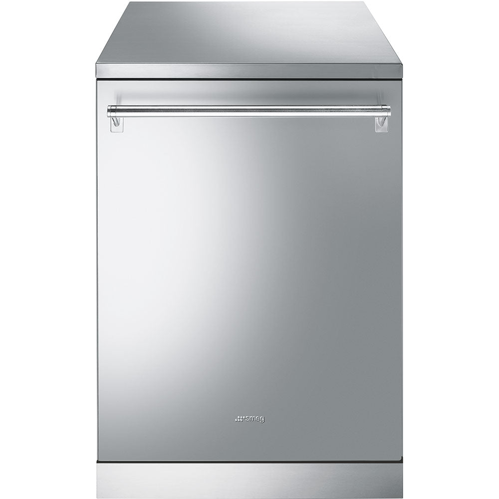 SMEG DISHWASHER STAINLESS STEEL 13 PLACE FREESTANDING - DW9QSDXSA