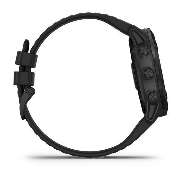 GARMIN FENIX 6X PRO SPORTS WATCH BLACK WITH BLACK BAND - 010-02157-02