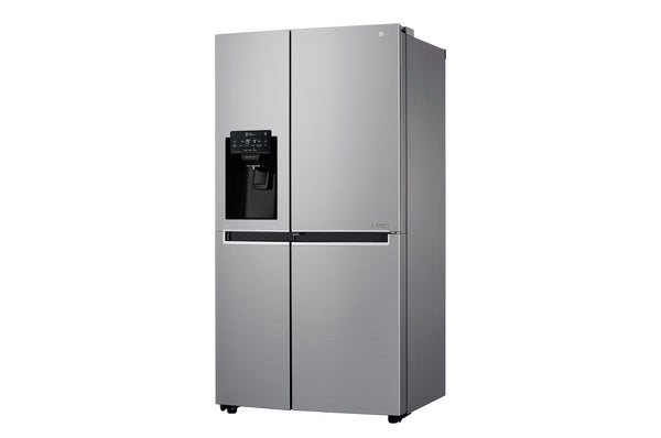 LG 601L SILVER SIDE BY SIDE FRIDGE DOOR IN DOOR WITH WATER DISPENSER PLUMBED - GC-J247SLUV