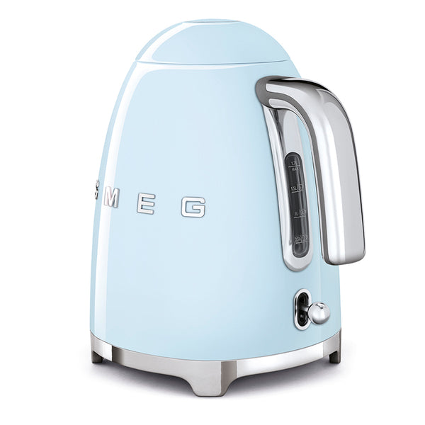 SMEG 1.7L RETRO ELECTRIC KETTLE - KLF03PBSA