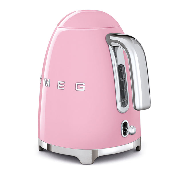 SMEG 1.7L RETRO ELECTRIC KETTLE - KLF03PKSA