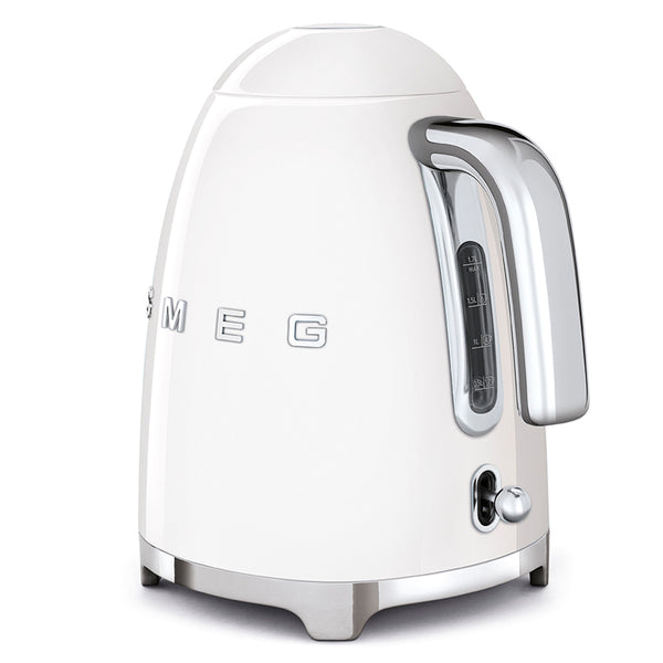 SMEG 1.7L RETRO ELECTRIC KETTLE - KLF03WHSA