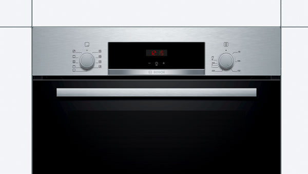 BOSCH 60CM SERIES 4 BUILT IN OVEN - HBJ534ES0Z