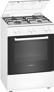 BOSCH SERIES 2 FREESTANDING GAS COOKER - HGA120B20Z