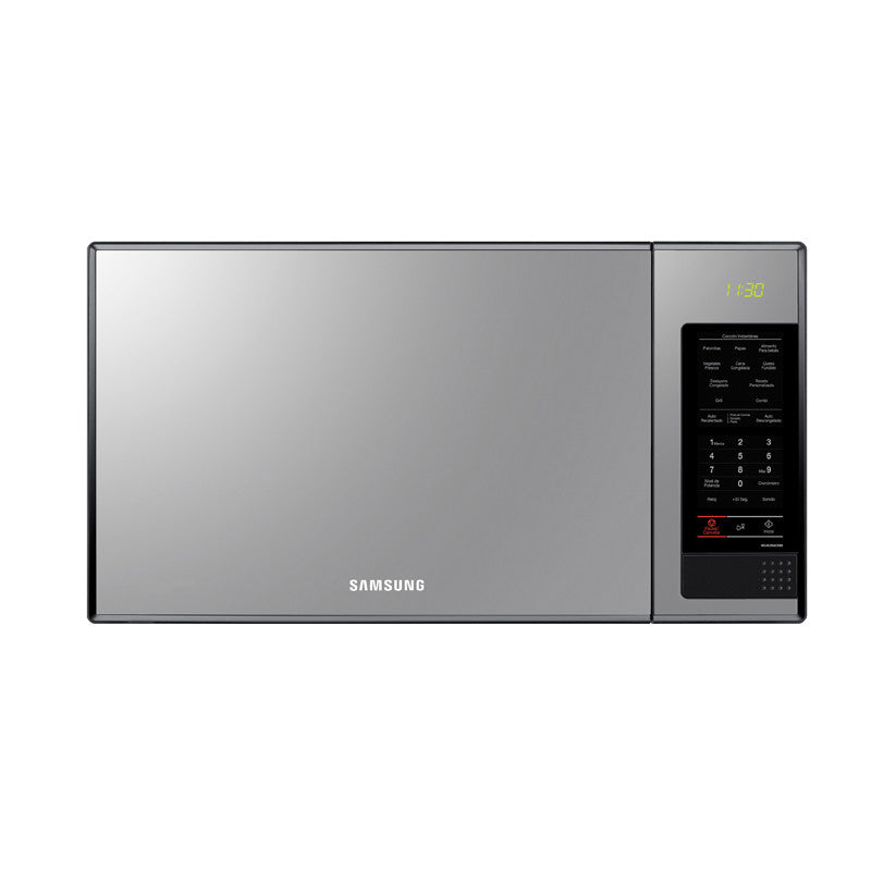 SAMSUNG - 40 LITRE GRILL MICROWAVE Model:MG402MADXBB