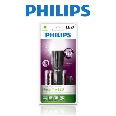 PHILIPS - METAL PRO LED TORCH