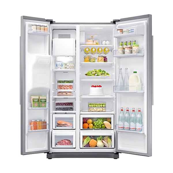 SAMSUNG 501L SIDE BY SIDE FRIDGE WITH AUTO WATER & ICE DISPENSER - RS50N3C13S8