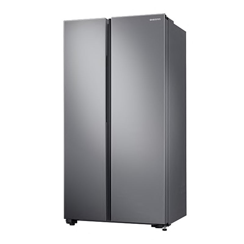 SAMSUNG 647L SILVER SIDE BY SIDE FRIDGE - RS62R5011M9