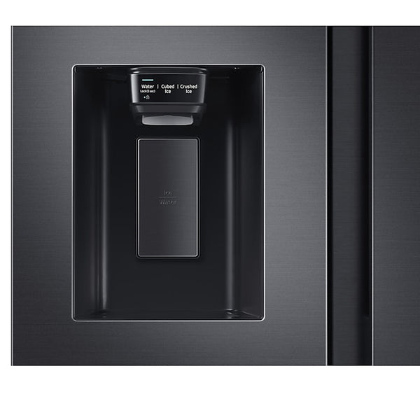SAMSUNG 617L SIDE BY SIDE NON PLUMBED WATER & ICE - RS64R5311B4