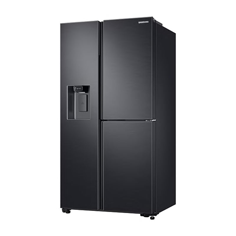 SAMSUNG 602L 3 DOOR PLUMBED WATER & ICE DISPENSER FRIDGE - RS65R5691B4