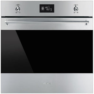 SMEG 60CM S/STEEL CLASSIC ELECTRIC OVEN - SF6390XE