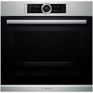 BOSCH 60CM STAINLESS STEEL BUILT-IN OVEN - HBG634BS1