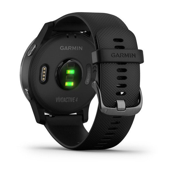 GARMIN VIVOACTIVE 4 GPS SPORT WATCH BLACK WITH SLATE - 010-02174-12