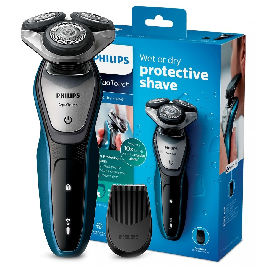 PHILIPS AQUA TOUCH WET/DRY SHAVER S5420/06