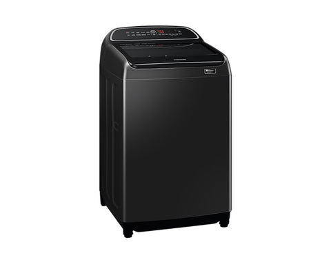 SAMSUNG 17KG TOP LOADER WASHING MACHINE BLACK CAVIAR - WA17T6260BV