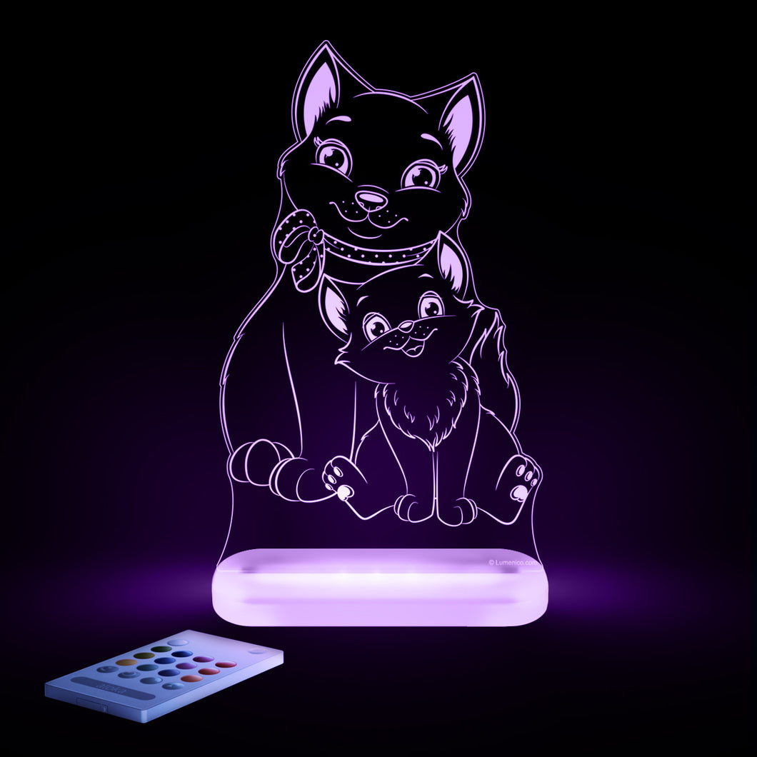 Copy of Aloka Starlights Cat Multi-Color LED Light with Remote Control