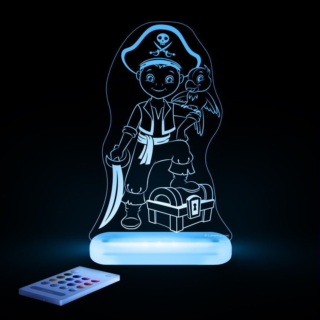Aloka Starlight Pirate Boy Multi-Color LED Light with Remote Control