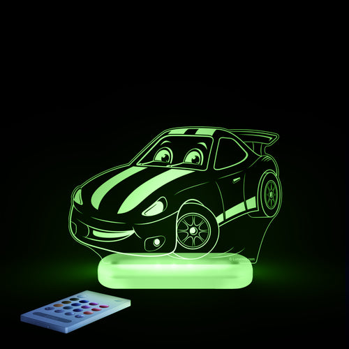 Aloka Starlight Racecar Multi-Color LED Light with Remote Control