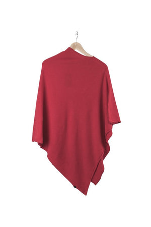 Ania Poncho-AW20-Bright Red-OneSize-KN Kati Niemi Collection