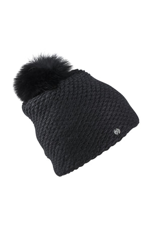 Knitted Hat-AW19-Black-KN Kati Niemi Collection