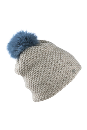 Knitted Hat-AW19-Beige-KN Kati Niemi Collection