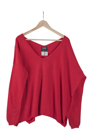 KN Toivo Neule-AW20-Red-M-KN Kati Niemi Collection