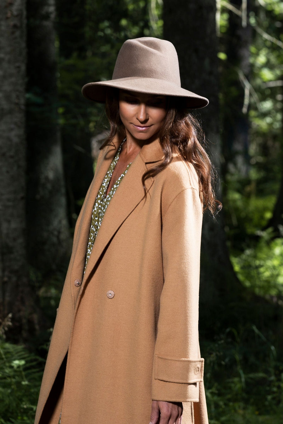 Karita Hat-AW20-Light Brown-57-KN Kati Niemi Collection