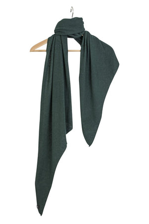 Stola Sghemba-AW20-Green-125x50-KN Kati Niemi Collection